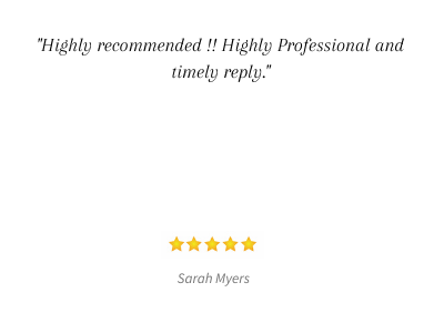 _Very quick response and they kept in touch, would definitely recommend._ (18)